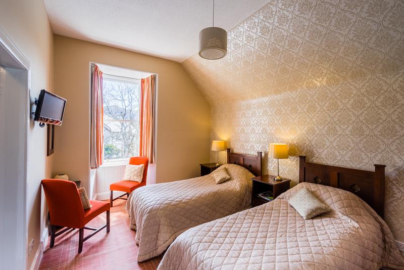 Sconser Lodge twin bedroom